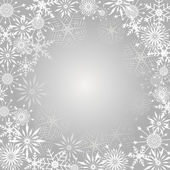 Fondo de copo de nieve. — Vector de stock