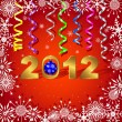 New Year's card. — Vector de stock #7230569