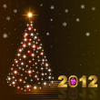 Royalty-Free Stock Imagem Vetorial: New year card.