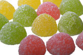 Multi-coloured jelly sweets — Stock Photo