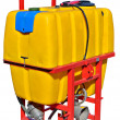 Fertilizer tank — Stock Photo