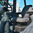 Cabin of control of tractor — Stock Photo #7250193