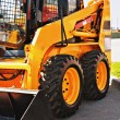 Skid steer loader — Stock Photo #7250205