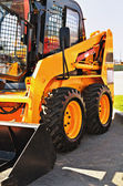 Skid steer loader — Stock Photo