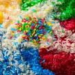 Multi-coloured rice — Stock Photo