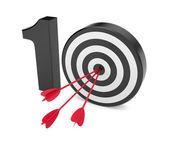 Play on ten. Success metaphor — Stock Photo