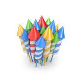 Firework rocket — Stock Photo