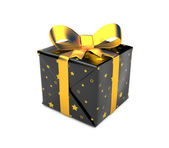 Gift box. Image contain clipping path — Stock Photo
