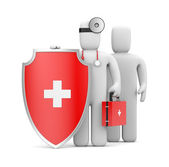 Medical Protection. Image contain clipping path — Stock Photo
