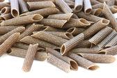 Wholegrain pasta close up — Stock Photo