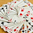 Old deck of cards — Stock Photo #6780350