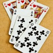 Old deck of cards — Stock Photo #6780541