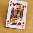 Stock Photo: Old deck of cards