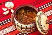 Balkánský zeleninový guláš — Stock fotografie