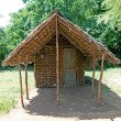 african hut — Stock Photo