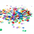 Stock Photo: Pile of colorful confetti