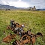 trattore arrugginito — Foto Stock
