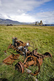 Rusted tractor — Stock Photo