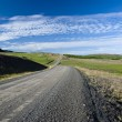Scenic road on Iceland — Stock Photo