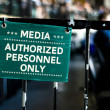 "Stock Photo: ""Medipersonnel only"""