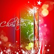 New year and for Christmas colorful design — ストックベクター #7858348