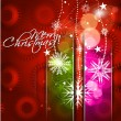 Stockvektor : New year and christmas colorful design