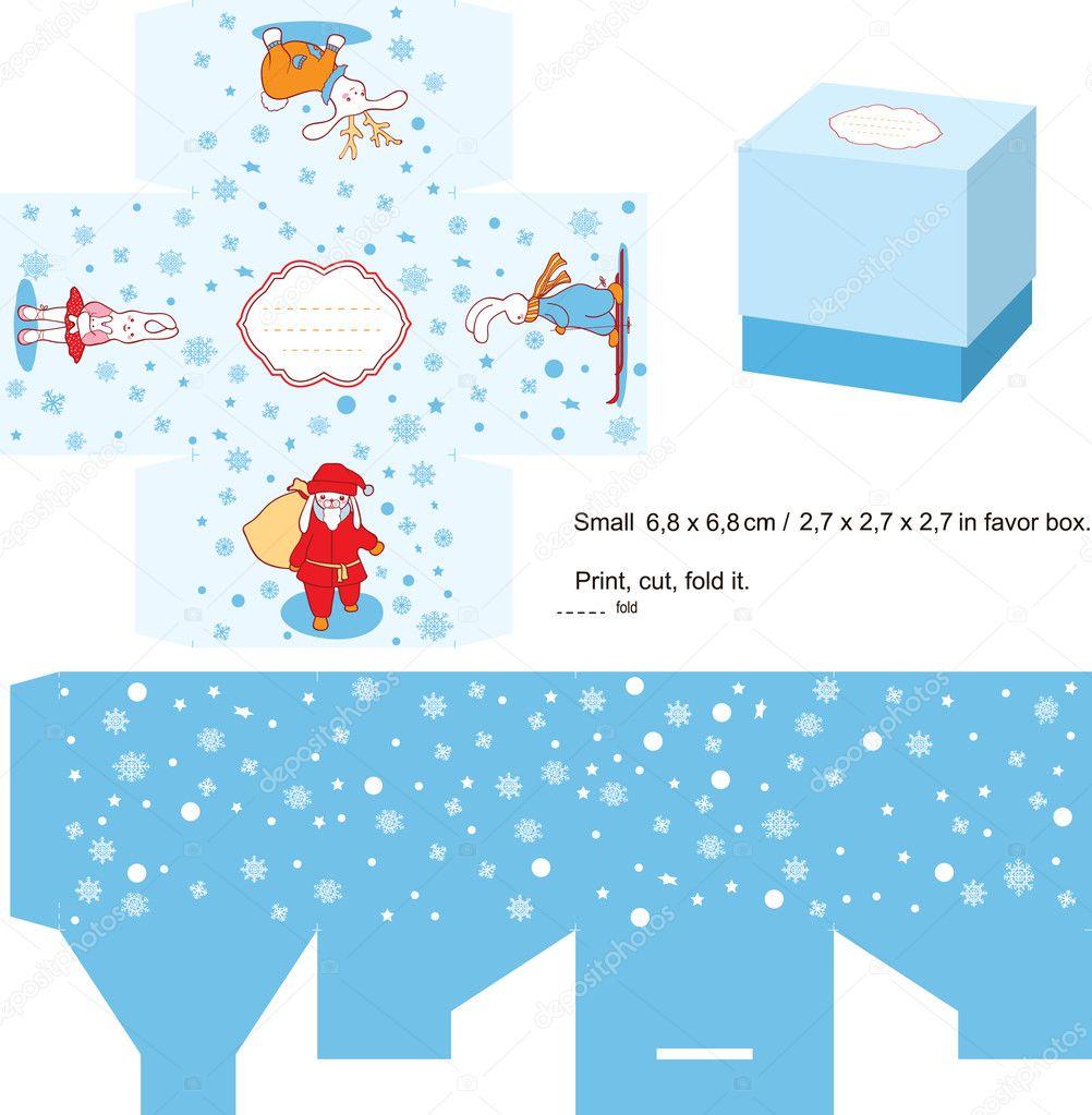 christmas gift box template stock vector © yaskii 7335197 christmas gift box template stock illustration