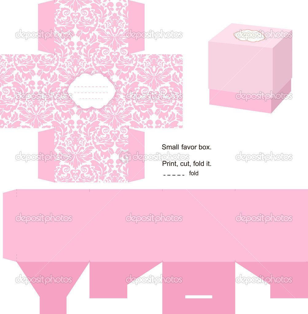 Gift box template Vector yaskii 7352264 – Template for Gift Box
