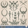 Royalty-Free Stock Immagine Vettoriale: Laurel wreaths