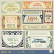 Vintage style labels — Stock Vector #6930729