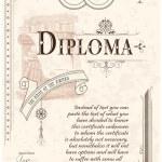 ������, ������: Diploma template