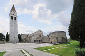 The Basilica of Santa Maria Assunta, in Aquileia — Stock Photo