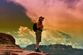 Male Hiker — Stock Photo