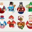 Christmas Icons — Stock Vector #6867572