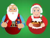 Christmas Ornaments — Stock Vector