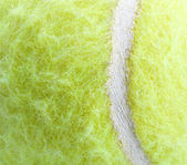 Tennis Ball the texture — Stock Photo