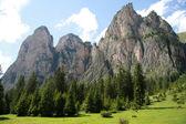 Vallunga (Val Gardena) — Stock Photo