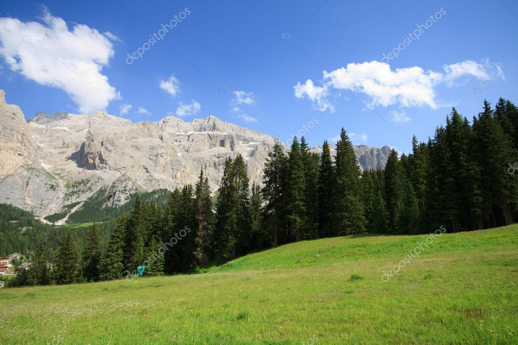 Sella - Val Gardena, Dolomites  Stock Photo #6862133