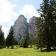 Vallunga (Val Gardena) — Stock Photo