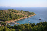 Cigrada beach in Murter - Croatia — Stock fotografie