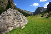 Vallunga (Val Gardena) — Fotografia Stock
