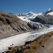 Stock Photo: Morteratsch glacier