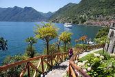 Isola Comacina - lago di como — Foto Stock