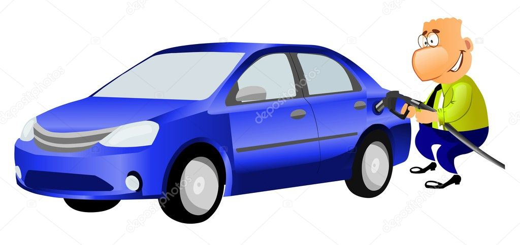 clipart auto tanken - photo #8
