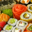 traditionell japansk sushi — Stockfoto