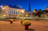 The Livu square. — Stock Photo