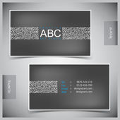 Set of creative business cards — ストックベクタ
