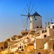 Santorini Windmill 05 — Stock Photo