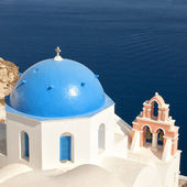 Santorini Oia Church 07 — Stock Photo