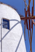 Santorini Windmill 02 — Stock Photo